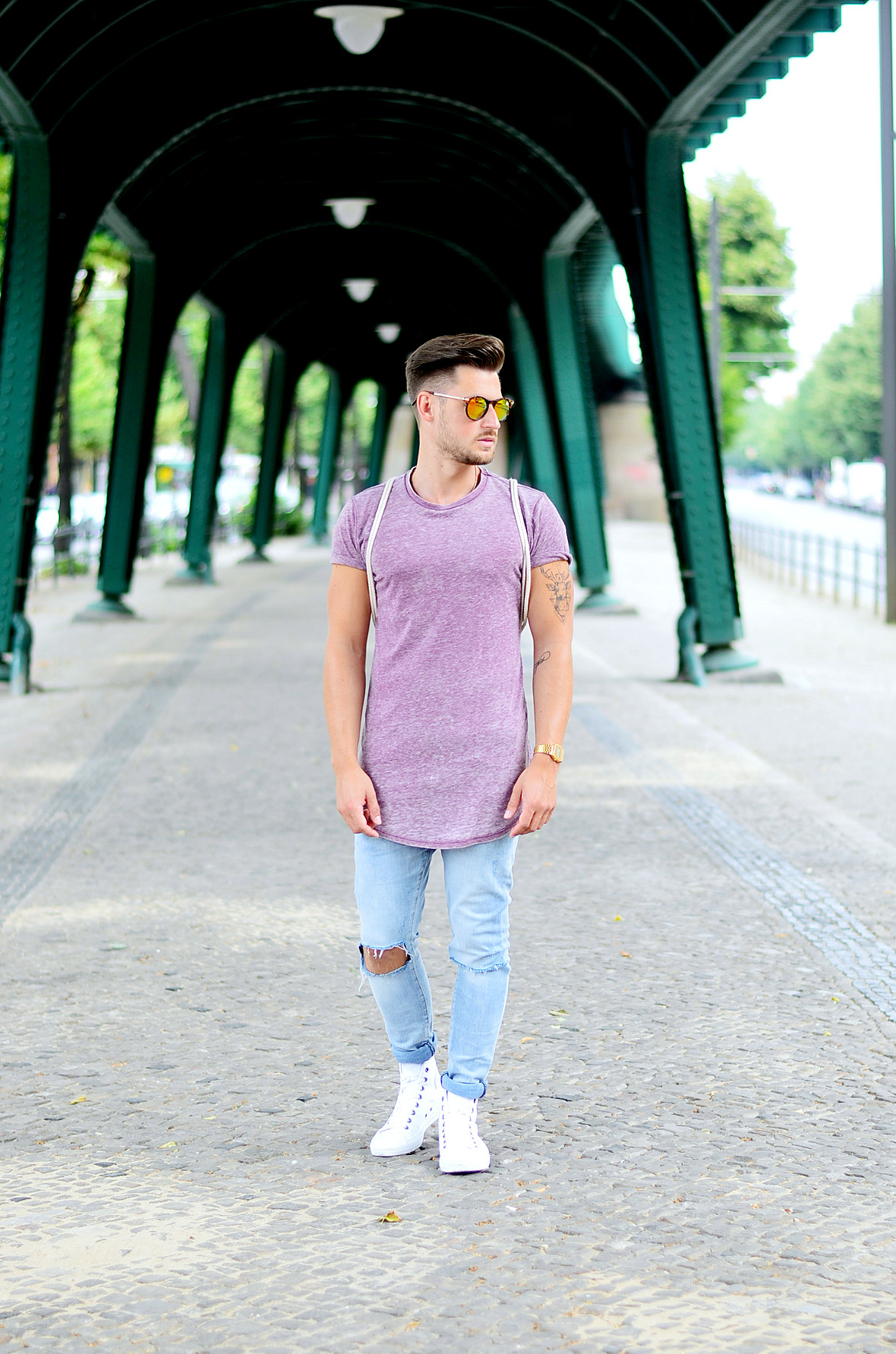 TommeezJerry-Converse-Chucks-weiß-Skinny-Jeans-Longshirt