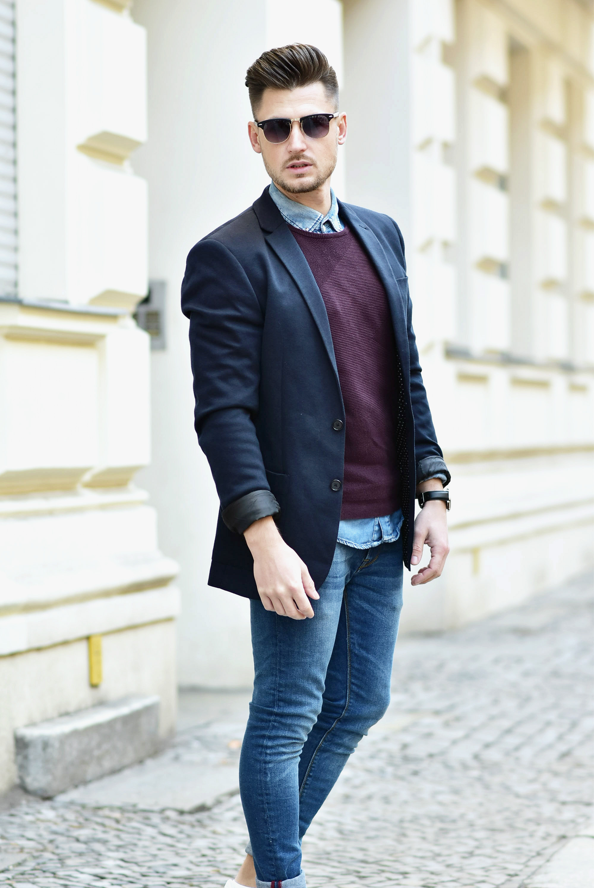 OUTFIT // SMART LOOK WITH BLAZER u0026 ADIDAS SUPERSTAR