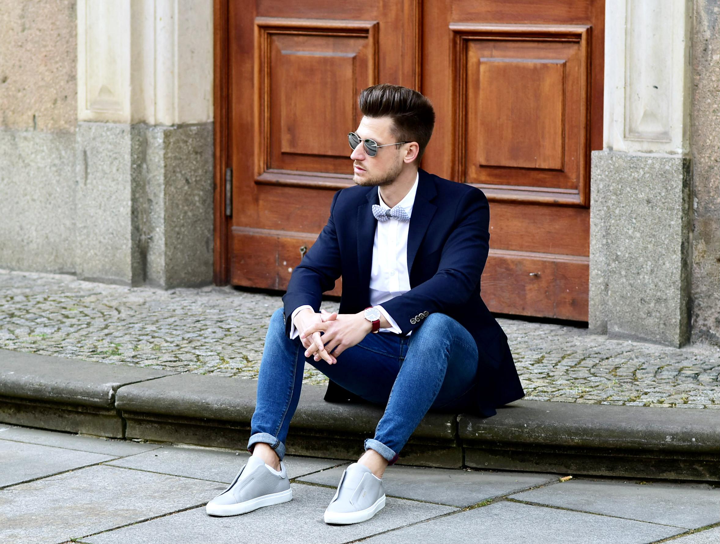Tommeezjerry-Styleblog-Männerblog-Männer-Modeblog-Berlin-Berlinblog-Outfit-Classy-Chic-Bowtie-Blazer-Axel-Arigato-Blogger-Award-Hashmag-Hamburg