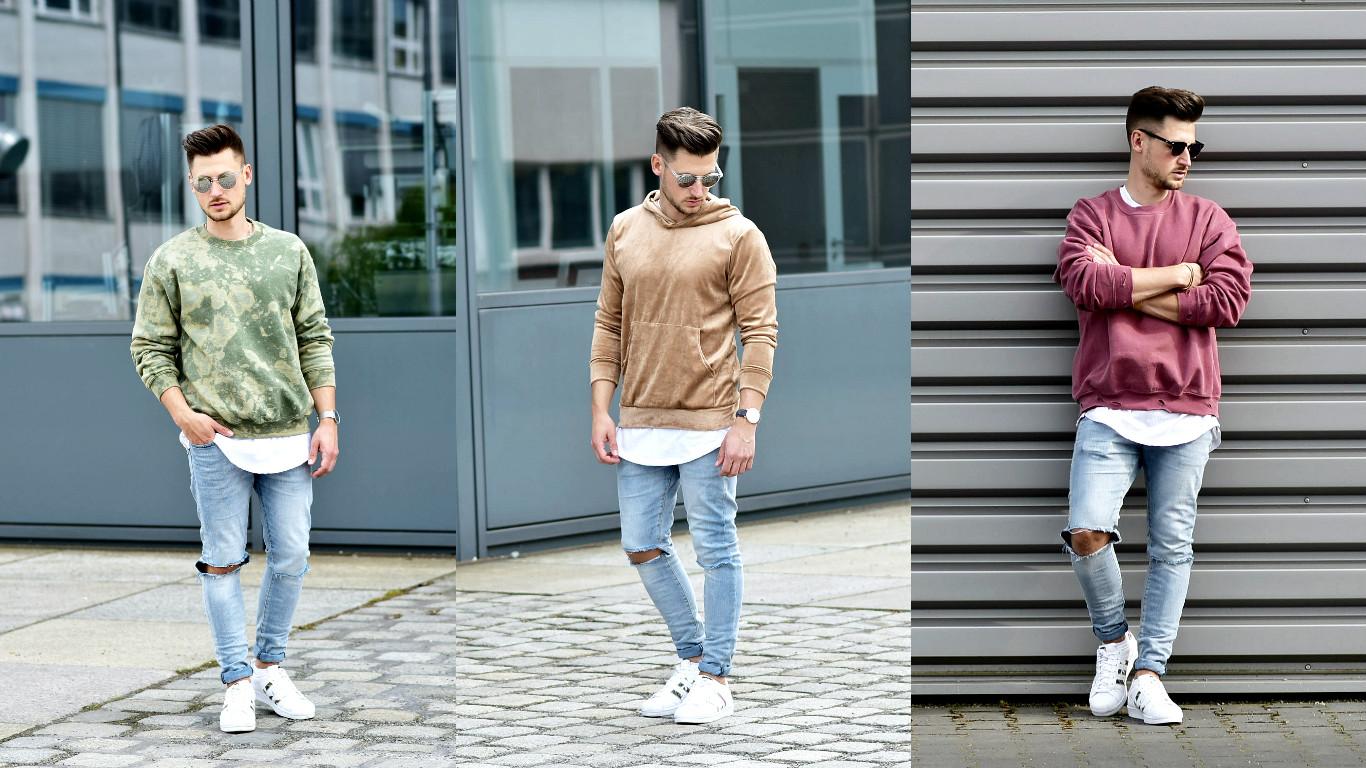 Tommeezjerry-Styleblog-Männerblog-Männer-Modeblog-Berlin-Berlinblog-Outfit-Streetlook-Vintage-Retro-Oversized-Adidas-Superstar-Skinny-Jeans-Rosa-Velours-Camouflage-Rosa