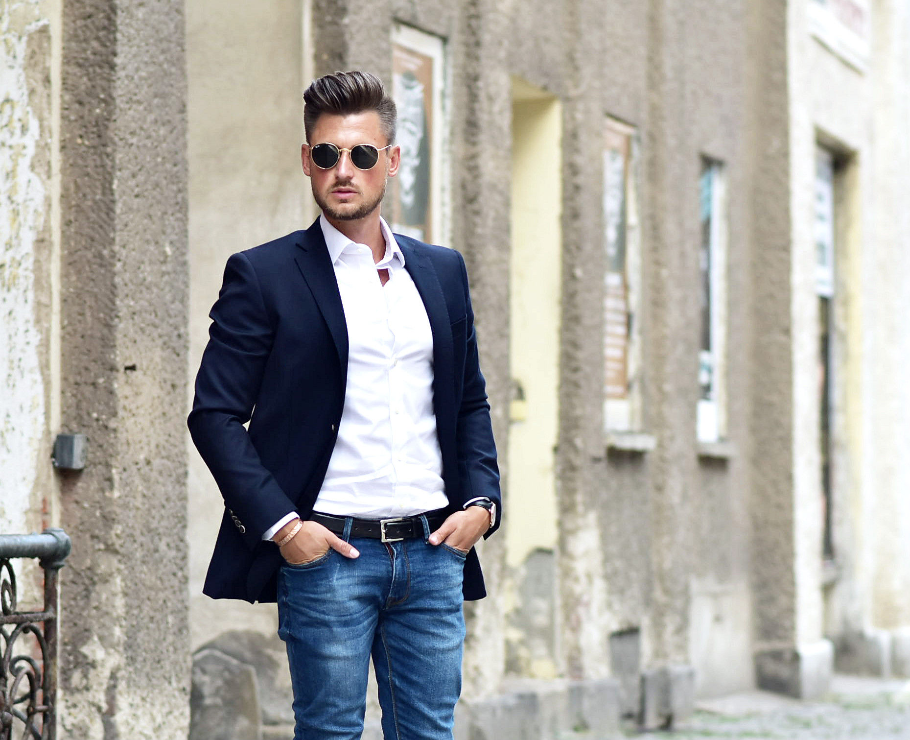 outfit dapper streetstyle with profoumo. Black Bedroom Furniture Sets. Home Design Ideas