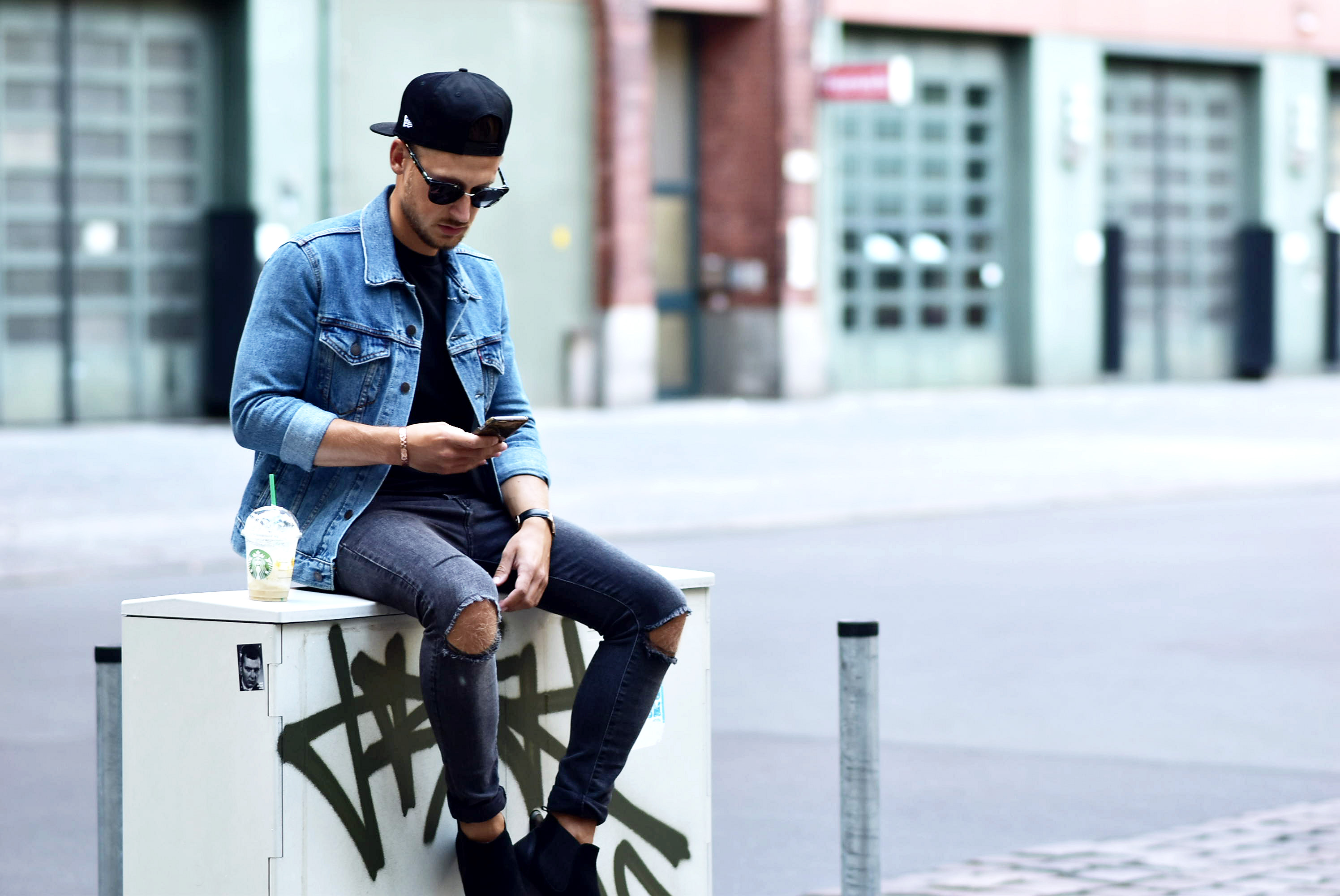 outfit denim streetlook with levi 39 s. Black Bedroom Furniture Sets. Home Design Ideas