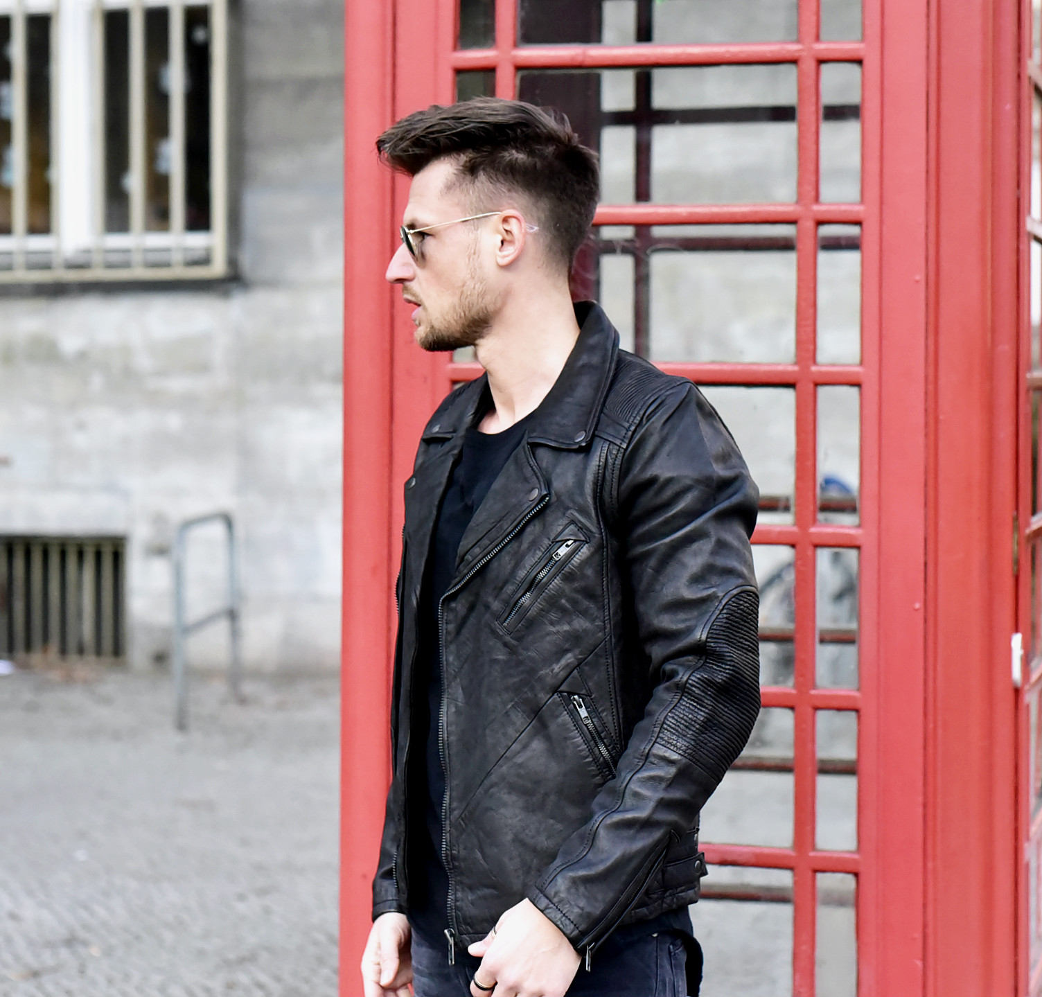 OUTFIT // ALL-BLACK STREETLOOK WITH GABBA DENIM