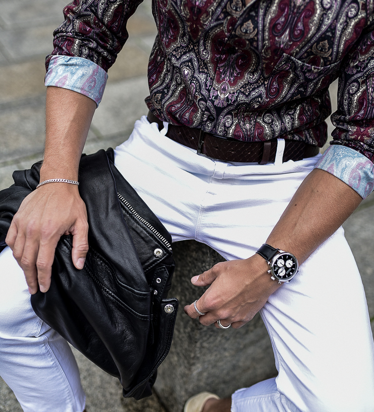 Tommeezjerry-Maennermodeblog-Maennermode-Fashionblog-Styleblog-Berlinblog--Lifestyleblog-Casualchic-Flybelt-Flowershirt-The-Kooples-White-Jeans-Movado-Watch