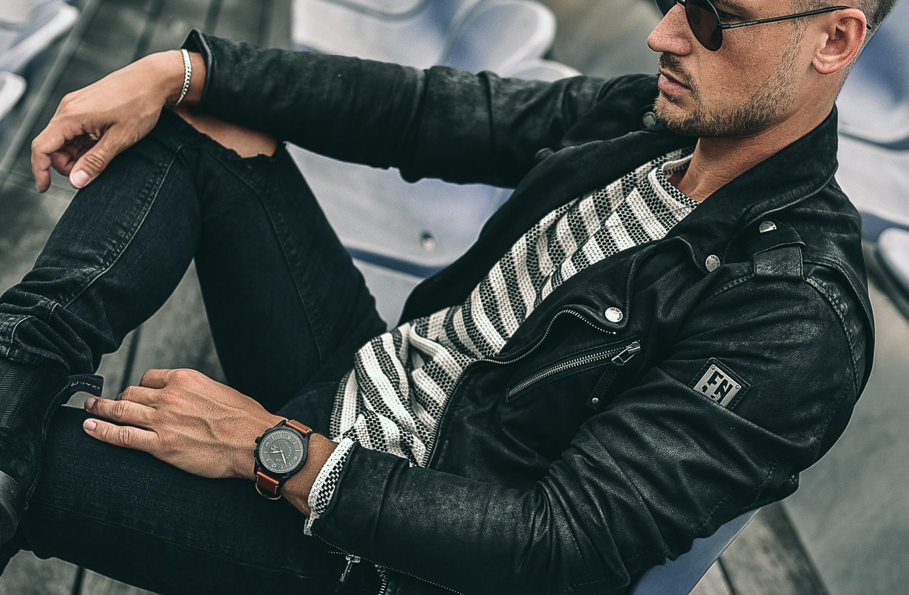 Tommeezjerry-Maennermodeblog-Maennermode-Fashionblog-Styleblog-Berlinblog--Lifestyleblog-Fossil-Hybrid-Q-Smartwatch-Bread-Butter-Lifestylewatch-Black-Outfit-Casual-Look